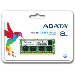 ADATA 8GB DDR3 1600MHz Laptop Memory