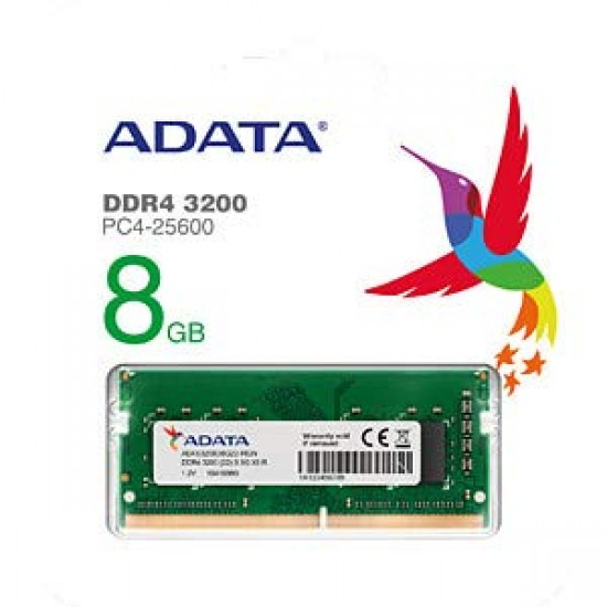 ADATA 8GB DDR4 modules for notebooks 3200MHZ Laptop Ram Memory