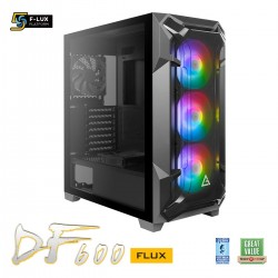 Antec DF600 Flux Mid Tower Gaming Case
