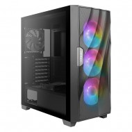 Antec DF700 Flux Black Mid Tower Computer Cabinet/Gaming Case