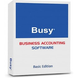 BUSY Accounting Software | Basic Edition | 1 User