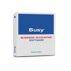 BUSY Accounting Software | Standard Edition | 1 User