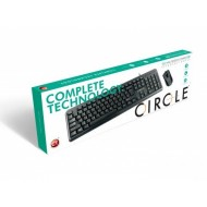 Circle C 41 Keyboard and Mouse Combo USB Wired