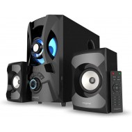CREATIVE SBS E2900 2.1 Channel 120W PeakAC Powerful Bluetooth 5.0 Speaker System with Backlit LED