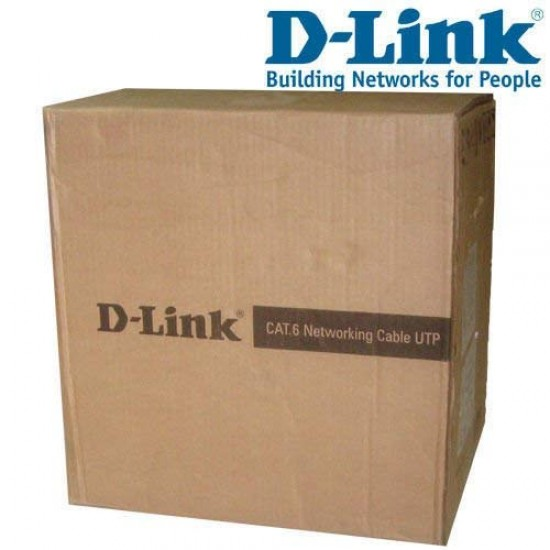 D-Link Cat-6 305 Meter Cable