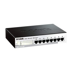 D-LINK DES-1210-08P 8-Port 10/100 PoE Switch