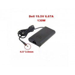 Dell 130W / 19.5V / 6.7A 4.5mm Slim Pin Laptop Adapter