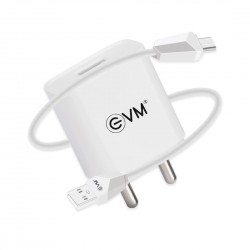 EVM Smart Charger With Micro USB charging cable