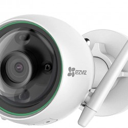 Ezviz C3N 1080P Wi-Fi Wireless IP67 Weatherproof Surveillance Outdoor Security Camera with Two-Way Audio, AI Humanoid Motion Detection Detection and Color Night Vision