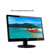 HP 19KA 18.5 inch (46.9 cm) LED Backlit Computer Monitor