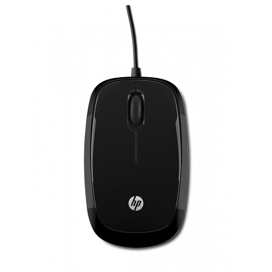 HP X1200 Wired Black Mouse