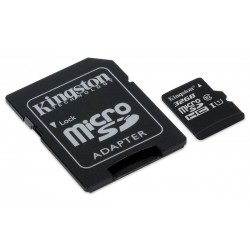 Kingston 32GB Class 10 UHS-I Micro SDHC Memory Card