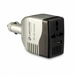 Lapcare 150W Portable Smart Car Charger with USB Port