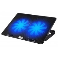 Lapcare ChillMate Adjustable Laptop Cooling Pad with Twin Fans