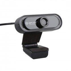 Lapcare Lapcam HD 720P Webcam with Noise Isolated Microphone & Computer HD Streaming Webcam