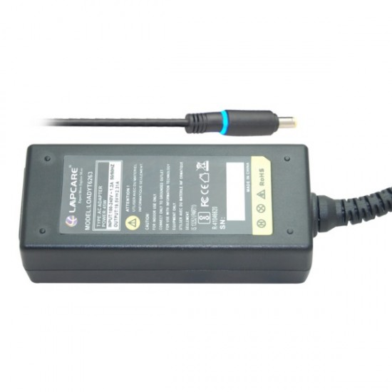 Lapcare LOADYT6263 45W 19.5V / 2.31A (SMALL PIN) Laptop Adapter for Dell