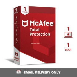McAfee Total Protection Anti-Virus - 1 PC 1 Year