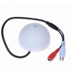 MIC for CCTV Systems in Round Shape