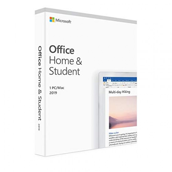 Microsoft Office Home and Student 2019   1 User Lifetime Validity