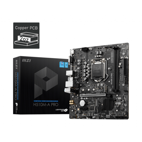 MSI H510M-A PRO Pro Series Motherboard
