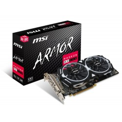 MSI RX 580 Armor 8G OC Gaming Radeon RX 580 GDDR5 Graphics Card