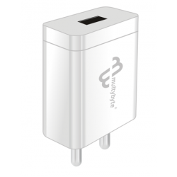 Multybyte Travel Charger 5V to 3Amp With charging cable