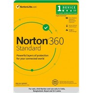 Norton 360 Standard | 1 User 1 Year | Total Security
