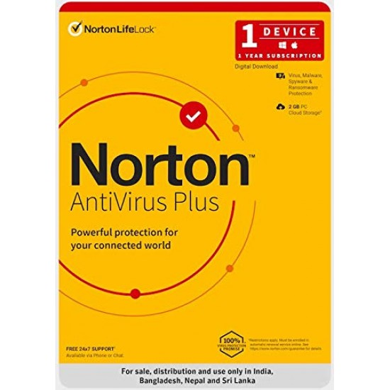 Norton Antivirus Plus | 1 User 1 Year
