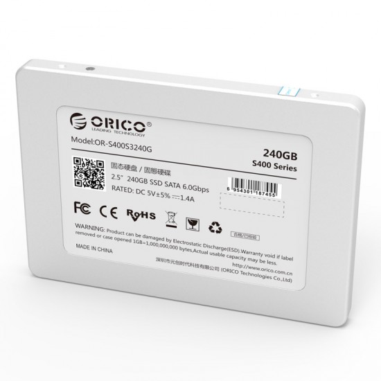 Orico 240GB 2.5 inch Internal Solid State Drive SSD for Desktop/Notebook