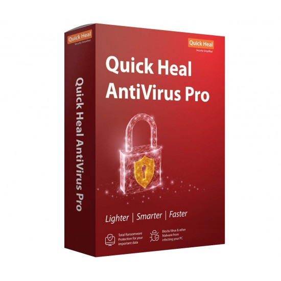 Quick Heal Antivirus Pro | 5 User 1 Year