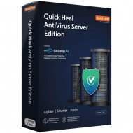 Quick Heal Antivirus Server Edition | 1 User 1 Year