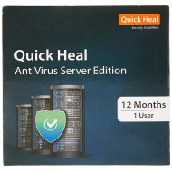 Quick Heal Antivirus Server Edition | Renewal | 1 User 1 Year