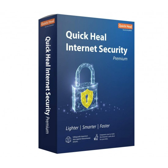 Quick Heal Internet Security   2 User 1 Year