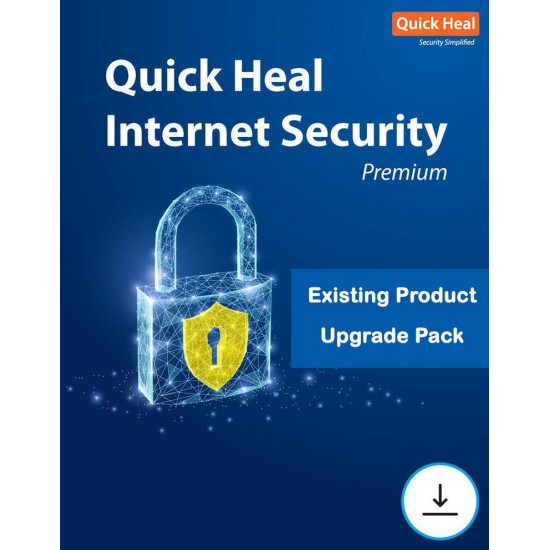 Quick Heal Internet Security Renewal   5 User 1 Year
