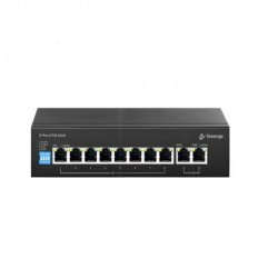Secureye S-8FE-2UE-LD-AI-VLAN 8+2 Port 10/100Mbps PoE Switch