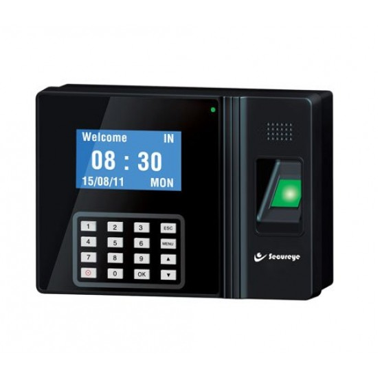 Secureye S-B100CB IP Based Fingerprint Biometric Time and Attendance/Access Control System