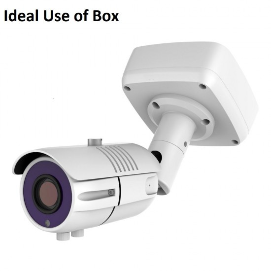 Square Junction Box for CCTV Cameras