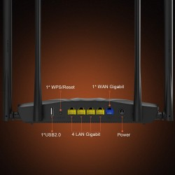 Tenda AC19 AC2100 Dual Band Gigabit Wireless Router