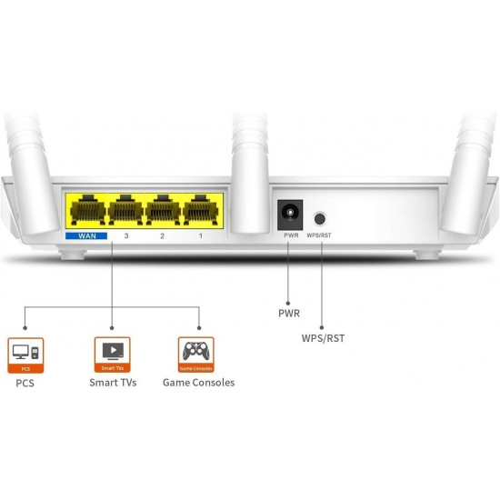 Tenda F3 300Mbps Wi-Fi Router