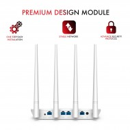 Tenda F6 Wireless N300 Easy Setup Wi-Fi Router