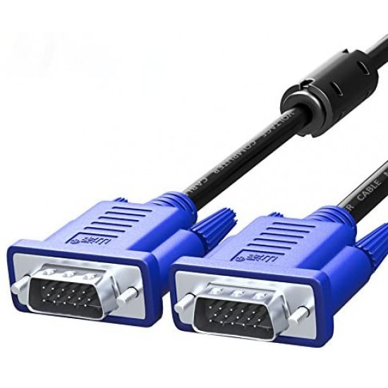 VGA Cable   Male to Male   1.5 Meter