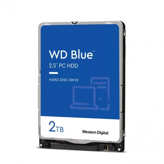 WD 2TB Blue Internal Hard Drive HDD for Laptop