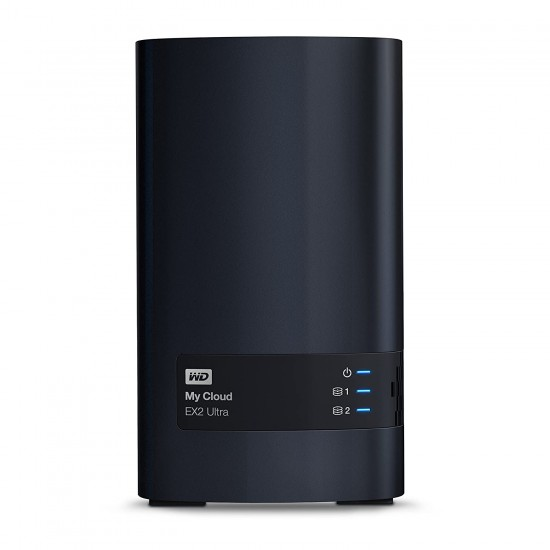 WD Diskless My Cloud EX2 Ultra Network Attached Storage
