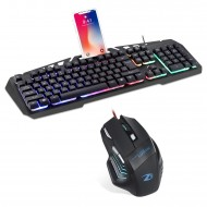 Zoook Combat Pro Gaming Keyboard and 7 Button Mouse Combo