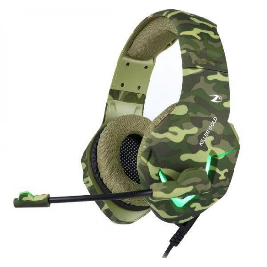 Zoook Killer Gold Wired Gaming Headphone With Mic