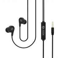 Zoook Panache Premium in-Ear Earphones with Super High Bass Sound & in-Line Mic