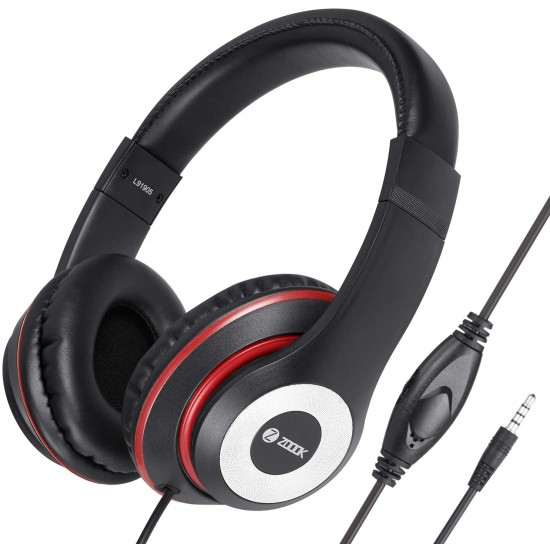 Zoook Thump Wired Headphone with Mic