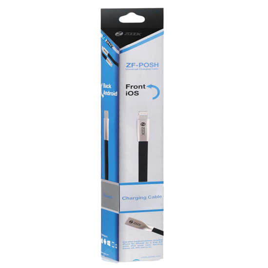 Zoook ZF-POSH Universal Data Cable for Apple and Micro USB